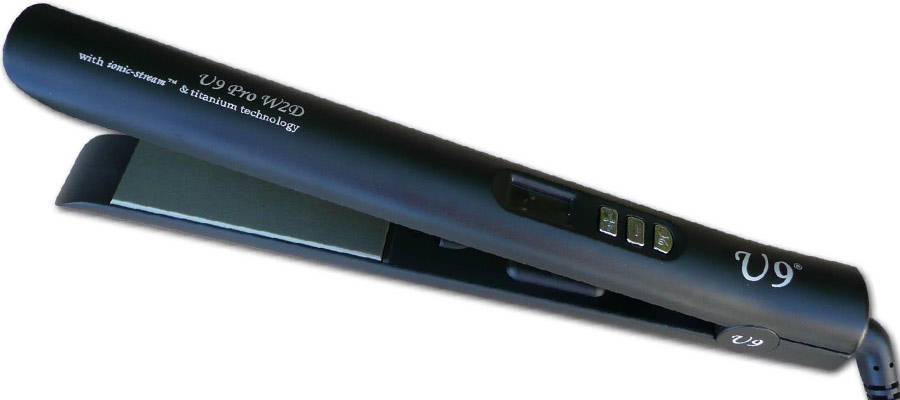 U9 Digital Wet to Dry Dual Voltage Flat Iron